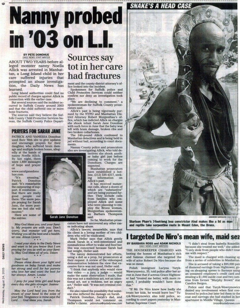 DN Story August 24 2005